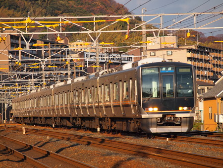 321系普通 東海道本線山崎~島本