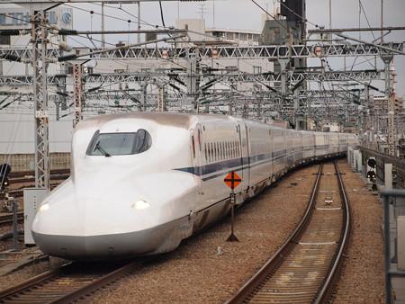 N700系のぞみ 東海道新幹線新大阪駅