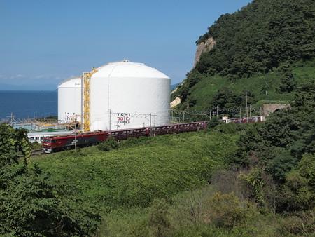 EH500貨物 東北本線浅虫温泉~野内