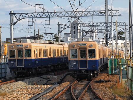 阪神5001形と5131形普通  阪神本線六甲駅