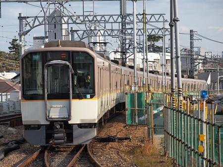 近鉄9820系快速急行 阪神本線甲子園駅