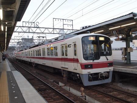 神鉄2000系回送 神鉄粟生線すずらん台駅