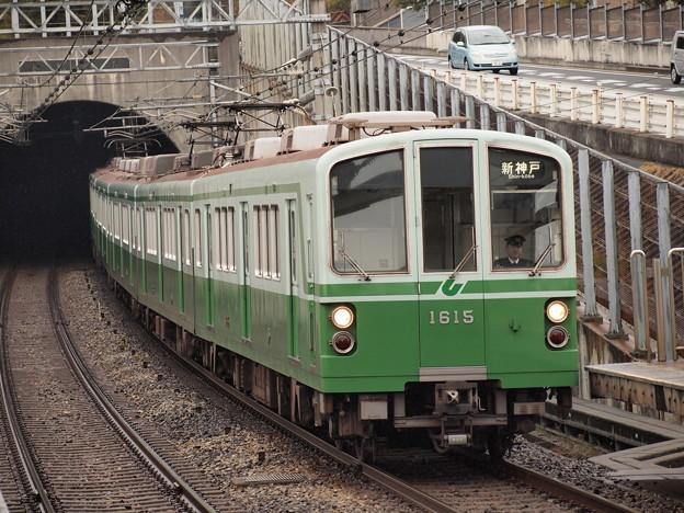 神戸市営地下鉄1000形 伊川谷駅 ...