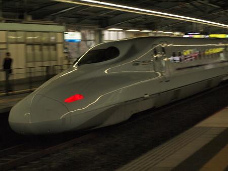 N700系さくら流し 山陽新幹線新神戸駅