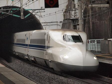 N700系ひかり 山陽新幹線新神戸駅