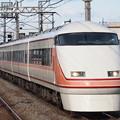 東武100系特急きぬ 東武伊勢崎線姫宮駅