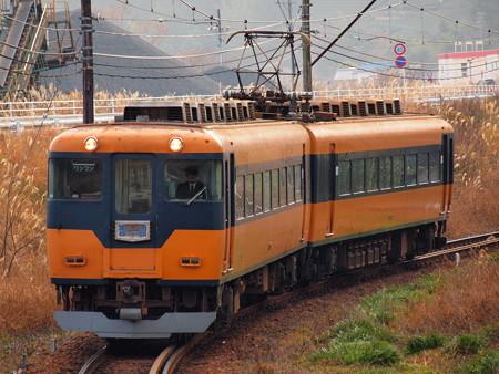 大井川鉄道16000系大井川鉄道線大和田~福用アウトカーブ