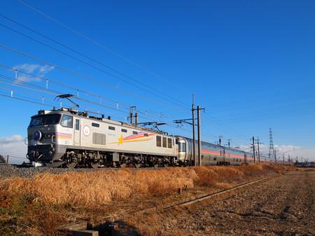 EF510 寝台特急カシオペア 東北本線岡本~宝積寺