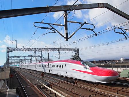 E6系+E5系 スーパーこまち・はやぶさ 東北新幹線那須塩原駅