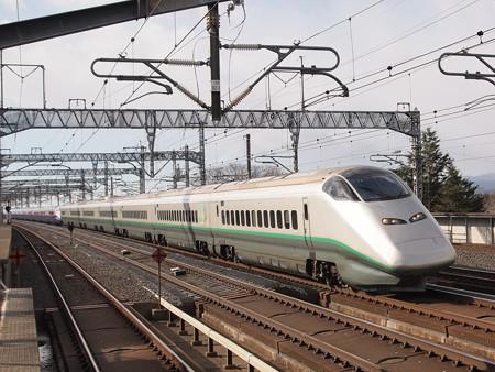 E3系+E2系 つばさ・やまびこ 東北新幹線那須塩原駅