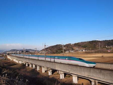 E5系 やまびこ 東北新幹線福島~郡山