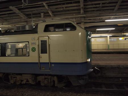 485系 回送 信越本線新潟駅