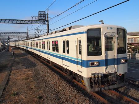 東武8000系 東武野田線東岩槻駅
