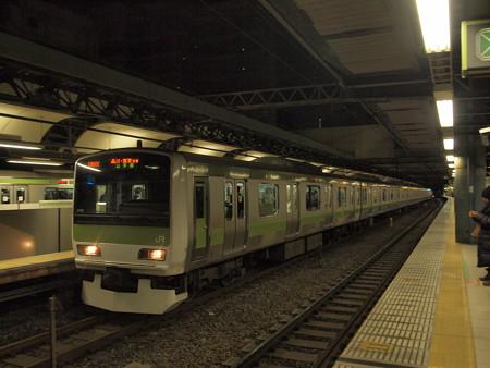 E231系山手線目黒駅 流し
