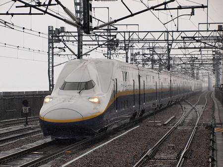 E4系MAXとき 上越新幹線浦佐駅
