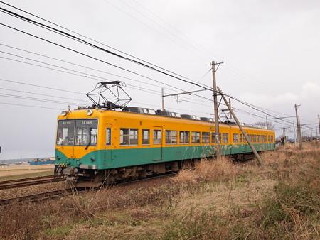 富山地鉄14760系新塗装 普通 富山地方本線西魚津~越中中村