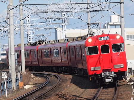 名鉄6000系準急 名鉄名古屋本線東枇杷島駅