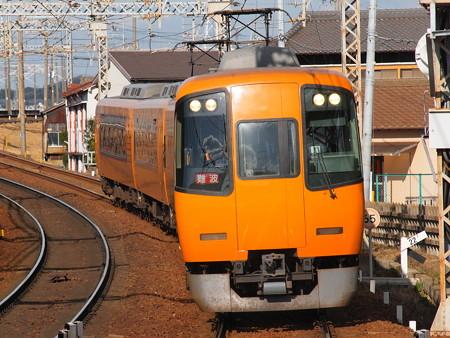 近鉄22000系名阪乙特急 近鉄名古屋線近鉄富田駅
