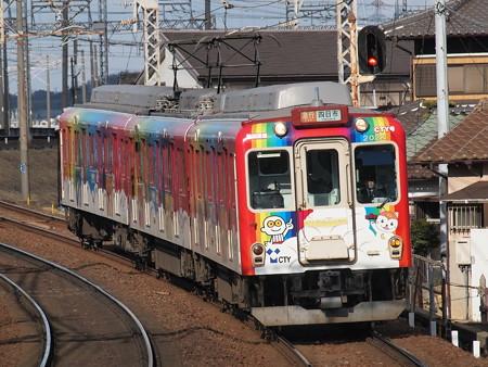 近鉄2600系アートライナー 近鉄名古屋線近鉄富田駅