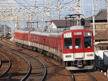 近鉄1200系急行 近鉄名古屋線近鉄富田駅