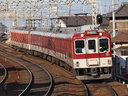 近鉄2600系L/Cカー 急行 近鉄名古屋線近鉄富田駅