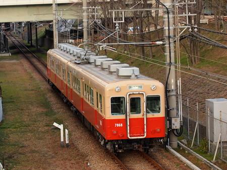阪神7801形普通 阪神武庫川線武庫川~東鳴尾2