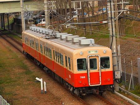 阪神7801形普通 阪神武庫川線武庫川~東鳴尾3