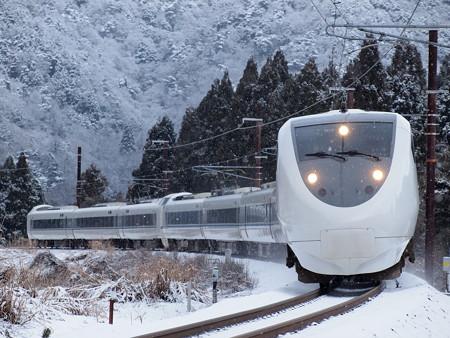 681系特急サンダーバード 北陸本線新疋田~敦賀