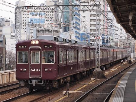 阪急5300系普通 阪急京都線中津駅