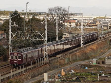 阪急2300系準急 阪急京都線西山天王山~大山崎