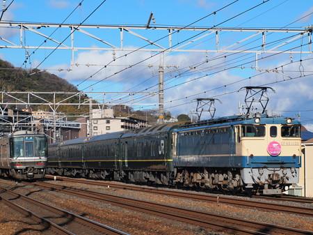 EF65 トワイライトエクスプレス 東海道本線山崎~島本