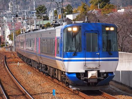 HOT7000系特急スーパーはくと 東海道本線さくら夙川駅