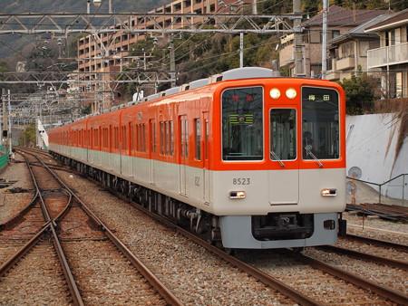 阪神8000系特急 山陽須磨駅
