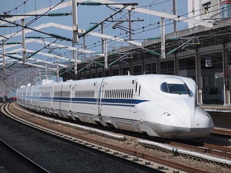 N700Aのぞみ 山陽新幹線西明石駅
