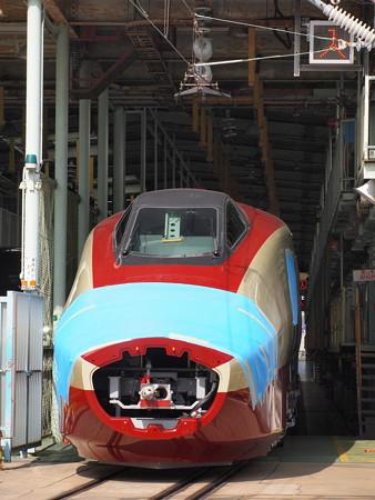 フリーゲージトレイン3次車 川崎重工兵庫工場