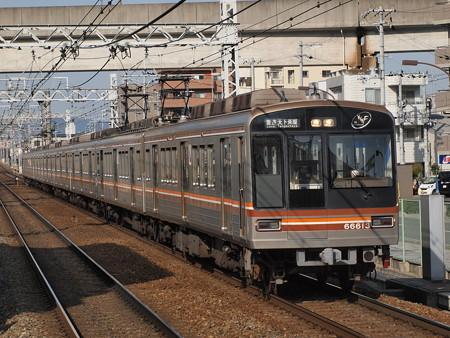 大阪市営地下鉄66系普通 阪急京都線南茨木駅
