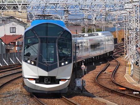 近鉄50000系しまかぜ 近鉄大阪線大和八木駅