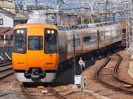 近鉄22000系名阪乙特急 近鉄大阪線大和八木駅