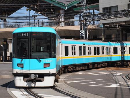 京阪800系普通 京阪京津線浜大津~上栄町2