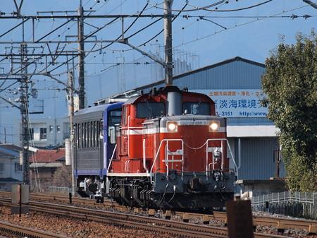 DD51+キハ120 亀山配給