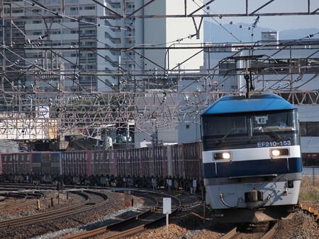 EF210貨物 東海道本線石山~膳所