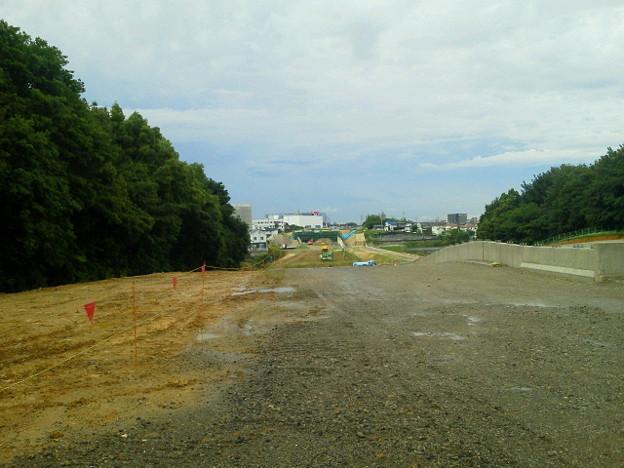 今日の現場はまたも豊田南バイパス工事現場。ちょっと早く着いてしまいました
