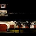 夜の旧新潟税関庁舎