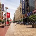 Photos: 真夏の上海 南京東路(歩行街)