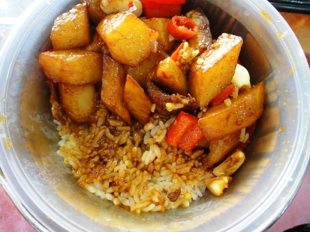 湘香縁 紅焼肉上土豆木桶飯 ご飯