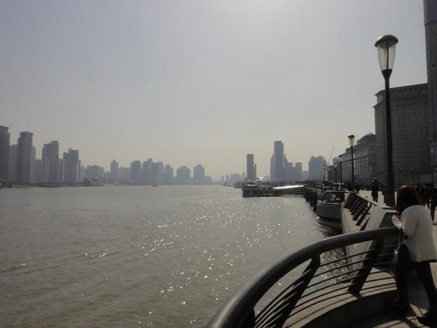外灘黄浦江