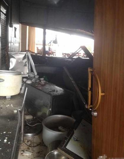 東莞 中国石油レストラン爆発事故 (4)