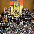 Photos: 台湾学生 立法院占拠 (2)
