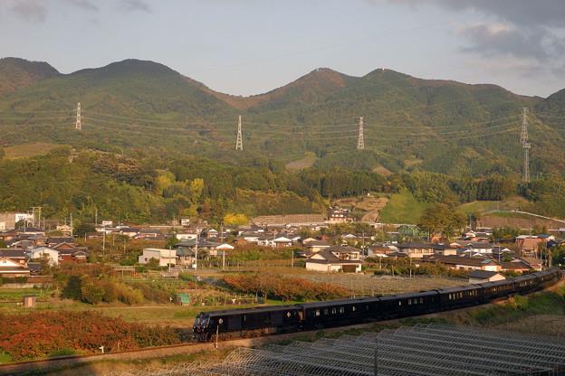 三日月山とななつ星in九州 2013/11/15
