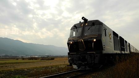 筑後平野をゆくななつ星in九州 2014/01/07